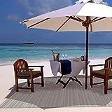 Gertmenian 48142 Outdoor Rug Barnwell Prime Patio Carpet, 5.25' x 7.5' Standard, Beige