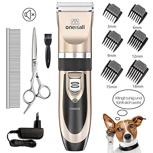Oneisall  Rechargeable Dog Clippers
