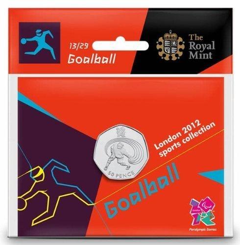 Royal Mint London 2012 50p Sports Collection - Pelota de portero