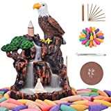 SOYO Waterfall Incense Burner, Backflow Incense Holder with 120 Incense Cones + 30 Incense Sticks +...