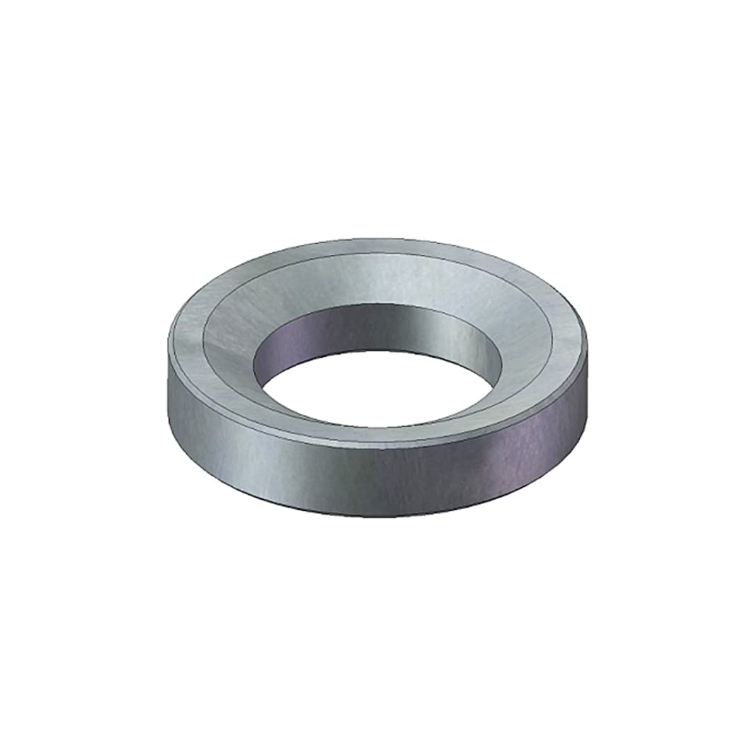 J.W. Winco 6319-9.6-D-A4 DIN6319-A4 Spherical Washer, 9.6 mm I.D, 316 Series Stainless Steel