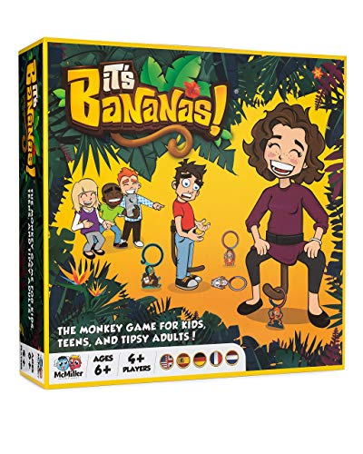It's Bananas! The Monkey Game for Kids, Teens and Tipsy Adults.|Fun Family Board Game Floor Game Party Game Card Game for Kids Teens Adults|Top 10 Best Board Games 2020|Best Christmas…