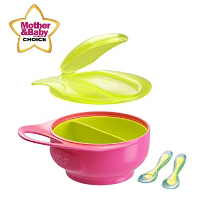 Brother Max Baby Feeding Bowl with Lid Set for ...