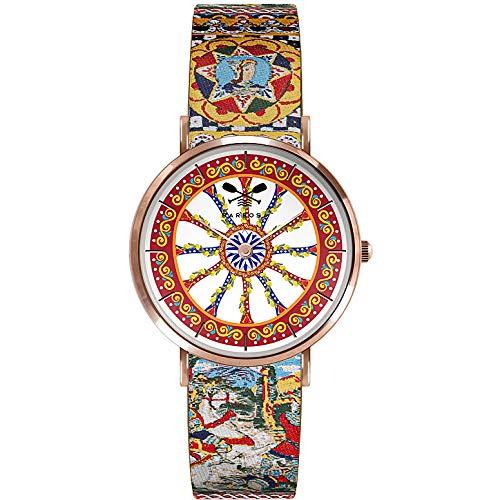 Reloj solo tiempo mujer Barbosa Sicily trendy cód. 01RS10-18RN330