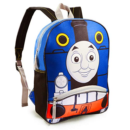 Thomas the Train Backpack for Boys Kids ~ Premium 14' Thomas Backpack (Thomas and Friends School Supplies)