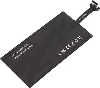 Receptor de carga inalámbrico tipo C Receptor de cargador inalámbrico USB QI para teléfono inteligente con interfaz tipo ...