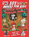 101 Mazes For Kids: SUPER KIDZ Book. Children -Ages 4-8 (US Edition). Fairy Tale Little Red Riding Hood with Grandmother custom art interior. 101 ... (Superkidz - 101 Mazes for Kids Fairytales)