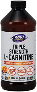 NOW Sports NOW Sports L-Carnitine Liquid 3000mg 16oz
