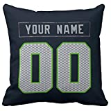 Custom Pillow Case Personalized Football Pillow Cover S.Seahawk