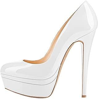 Elegante Plateau High Heels aus Samt, 49,95 €
