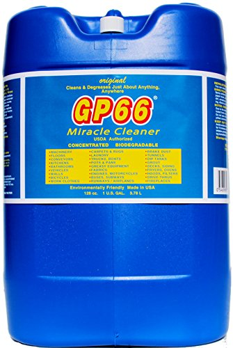 gp66 Green Miracle Cleaner from GP66 (1, 5 gal Pail.) Cleans and degreases just About Anything Anywhere Green Product Concentrated Oven Cleaner Concrete Cleaner Laundry Detergent Grout Clean and More
