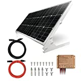 TP-solar 100W 12V Solar Panel Kit Battery Charger 100 Watt 12 Volt Off Grid System for Homes RV Boat + 20A Waterproof Solar Charge...