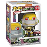 Funko Pop Television : Teenage Mutant Ninja Turtles - Metalhead (Exclusive) 3.75inch Vinyl Gift for Anime Fans SuperCollection