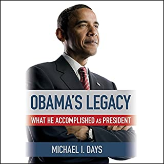 Obama's Legacy audiobook cover art