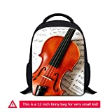 ZRENTAO Preschool Small School Backpack Mini Daypack for Children Girls Toddler Boys 0-5 Year Old