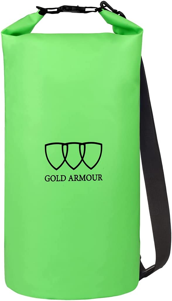 Gold Armour Floating Waterproof Dry Bag 20L 5L 30L 10L 40L Under blast sales Roll Inexpensive