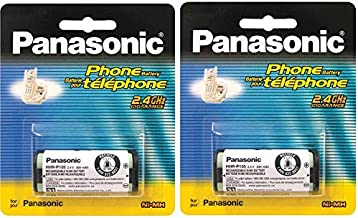 (2 PACK) Panasonic Ni-MH Rechargeable Battery for Cordless Telephones(HHR-P105A)