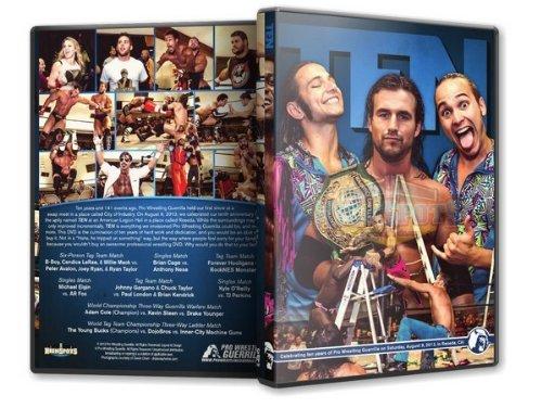 Pro Wrestling Guerrilla - Ten DVD
