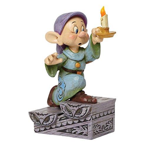 """Disney Traditions, Figura del enanito Mudito de """"Blancanieves"""", para coleccionar, Enesco"""
