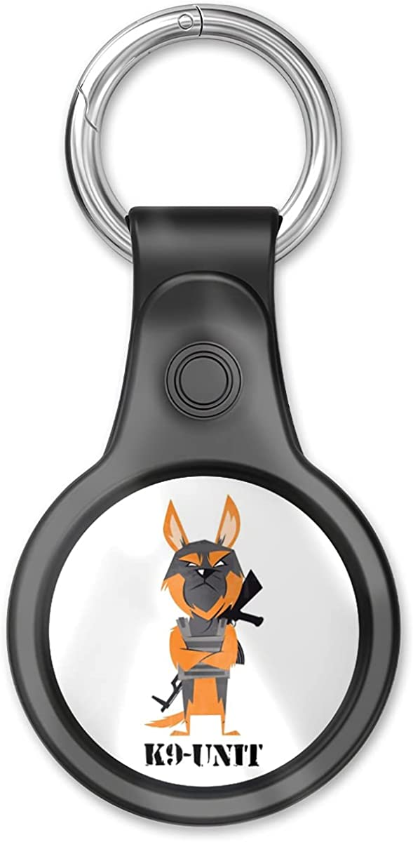 Cover Case Compatible With Airtags Tracker, Airtag Finder K9 Item Unit Air Tags Dog Home War Location Key Chain Keychain Accessories With Anti-loss Design