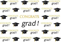 HDCongrats Grad Backdrop for Photography 7x5ft Class of 2019 Graduation Ceremony Photo Booth Background Party Event Banner HXVV070