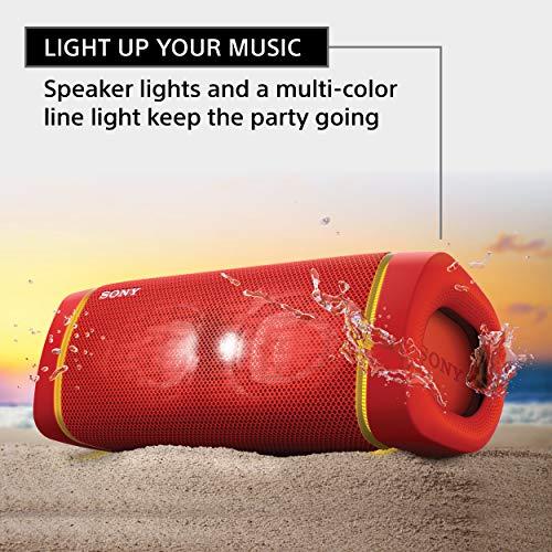 Sony SRS-XB33 EXTRA BASS Wireless Speaker IP67 BLUETOOTH, Red