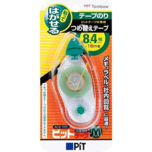 トンボ鉛筆 テープのり ピットテープMK8.4用つめ替え PR-MK8.4