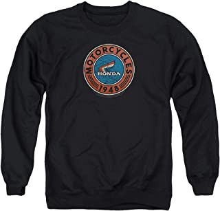 Honda Motorcycle Oil Unisex Adult Crewneck Sweatshirt for Men and Women