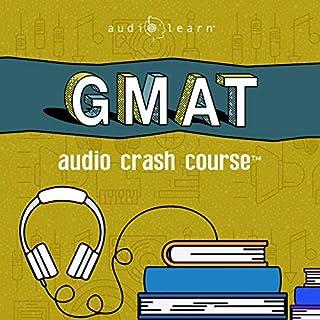 GMAT Audio Crash Course audiobook cover art