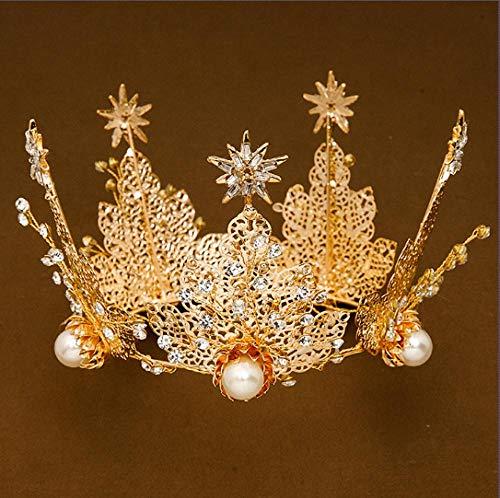 Meisjes Haaraccessoires Haar Ring Children's Headdress Prinses Kroon Hoofdband Baby Haar Clip Hoofdband Bloem Meisje Krans Jurk Accessoires