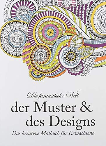 Idena 68130–Libro para Colorear para Adultos, diseño geométrico y Designs, 64páginas