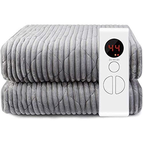 Almohadilla térmica,Manta eléctrica para el hogar, Manta concalefacción eléctrica Lanzamiento de Calentamiento...
