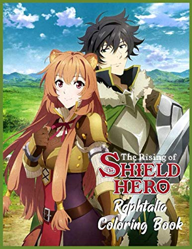 The Rising of the Shield Hero Raphtalia Coloring Book