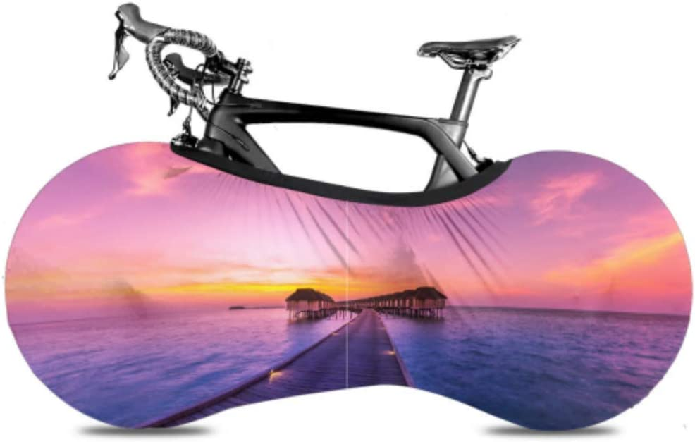 ENEVOTX Amazing Panorama of Sunset Wheel Bicycle Covers for Bike Super Special Max 61% OFF SALE held