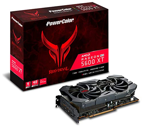 Powercolor AXRX 5600XT 6GBD6-3DHE/OC Red Devil radeontm RX 5600 XT 6gb