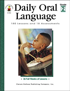 Daily Oral Language, Grade 2: 180 Lessons and 18 Assessments (Daily Series)