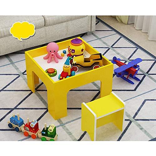 Speeltafel voor kinderen Houten speeltafel Baby Bouwsteen Speelgoedtafel Zandtafel Kinderen Ruimte Zandtafel Treintafel Multifunctionele activiteitentafel