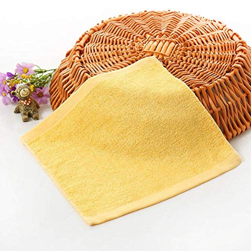 1 unids 25 * 25 cm cuadrados de color sólido fibra de bambú toalla suave toalla de algodón mano de algodón toallas de baño toallas de natación cara mano baño baño conjuntos de toalla de ducha grande