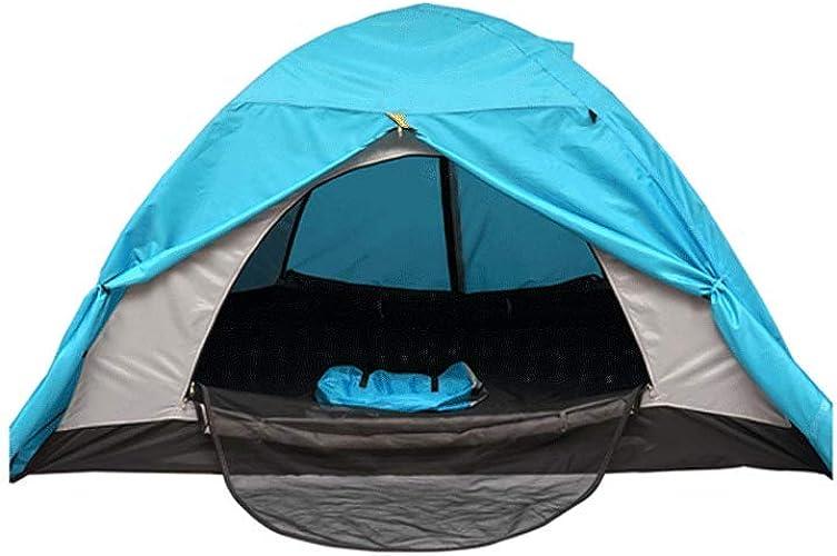 XXW Tente 1-2 Personnes Double Couche avec puits de lumière Neige Tente Chaude Tente de Camping Froid Coupe-Vent épais Tente Extérieure