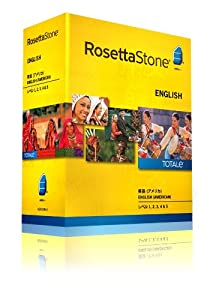 ロゼッタストーン 英語 (アメリカ) レベル1、2、3、4&5セット v4 TOTALe オンライン15か月版