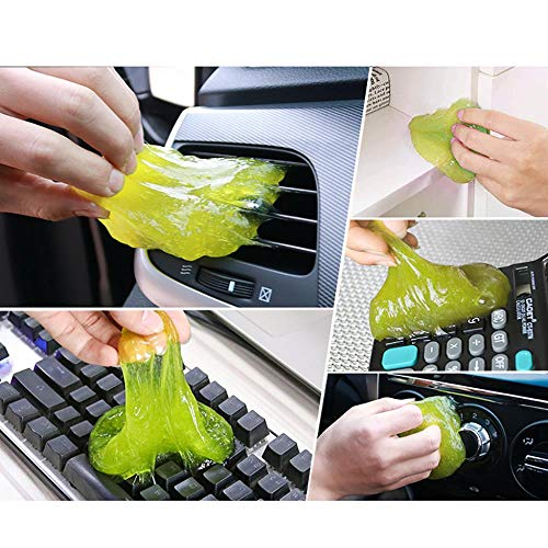 Tastaturreinigung Auto Reinigungsschwamm Produkte Auto Universal Super Clean Clean Klebriger Kleber Auto Klimaanlage Outlet Reinigung, Vereinigte Staaten