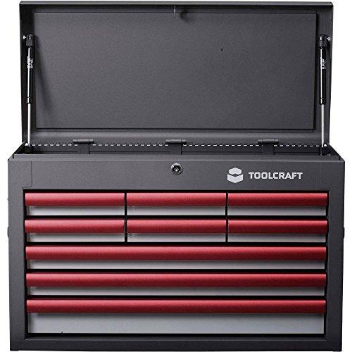 TOOLCRAFT 887090 gereedschapskoffer en de kleine onderdelen wzk-309 Afmetingen: (B x D