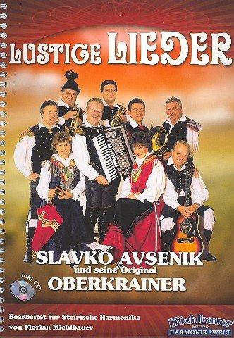 Lustige Lieder (+CD): für Steirische Harmonika in Griffschrift