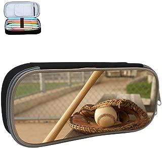 Se20B Baseball Pitcher Pencil Case Student 3D Printed Pen Box Stationery Pouch Multilayer Storage Bag Black