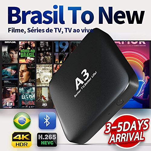 IPTV Brazil 2020 Newest A3 Box 3-5 Days Arrival Based on A2 Brazilian Better Than HTV 5 6 IPTV8 5 6 Plus Newest Upgraded Brazil Box with 250 Live Brazilian Channels and Massive Movies Dramas Films