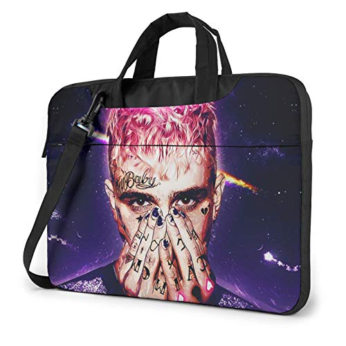 Lil Peep Shoulder Shockproof Laptop Bag Laptop Sleeve Case Ultra-Slim Laptop Computer Pouch Bag 14 inch