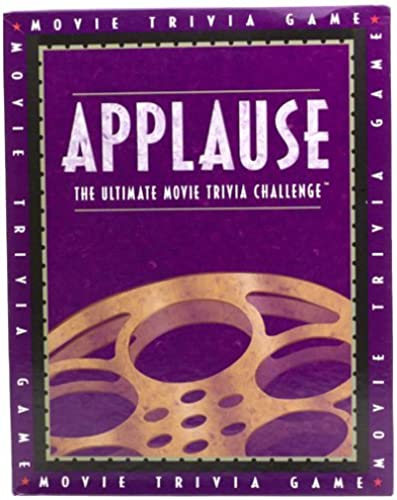 Applause The Ultimate Movie Trivia Challenge by BIG GAME