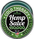 Premium Hemp Salve - Strong Natural Pain Relief - 150,000 Hemp Extract - Hemp Oil & Menthol - Anti-Inflammatory for Joint & Muscle, Arthritis Pain - Fast Acting Hemp Salve - Made in USA - Non-GMO