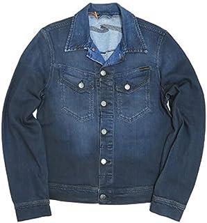 (ヌーディージーンズ)Nudie Jeans コニー CONNY デニムジャケット ジージャン Gジャン ORG.BLACK ON BLUE ユーズドウォッシュ 38161-5017