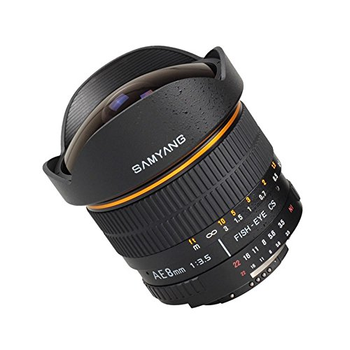 Price comparison product image Samyang 8 mm / F 3, 5 FISHEYE Lens (Canon EF / EF-S Mount)